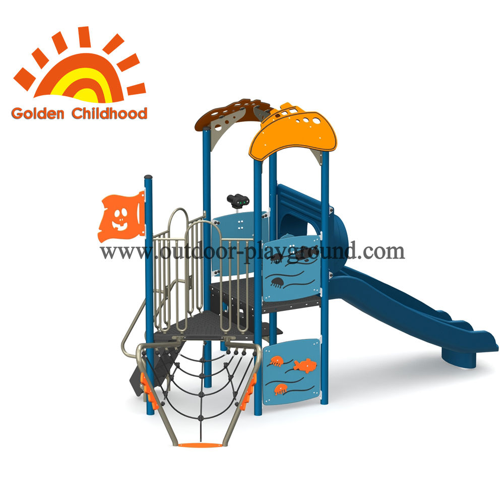 Ocean Style Outdoor Playground Equipment