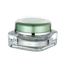 Акриловая косметическая упаковка кремовая банка оптом