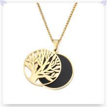 Joyería de perlas accesorios de moda joyería de acero inoxidable conjuntos (js0247)