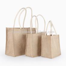 Выдвиженческое Eco содружественные многоразовые джута сумка оптовая