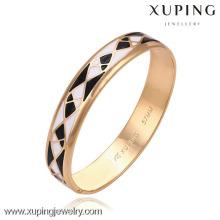 51265 -Xuping Simple Design Bangles Pas Cher En Gros Bijoux Or Bracelets Avec Bonne Quantité