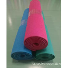 Material PVC material doble color deportes mat