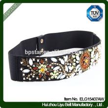 Fashion Elastic Cinch Belt Lady Female Strap Cintos Women waistband Designer for Dress with Crystal Ornament Ceinture