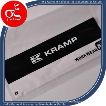 Impression en plastique faite sur commande de sac avec l'adhésif pour des vêtements