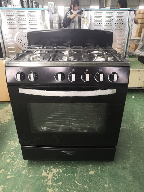 6 Burner Stainless Steel Oven for Kitchen Restaurant