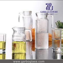 Pichet en verre 0,5L avec couvercle (GB1102BF-1)