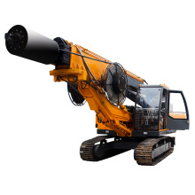 excavator pile driver  auger bore pile foundation machine rotary drilling rig for sale