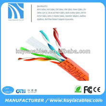 Orange solid 23AWG UTP Cable Cat6 (305m) box