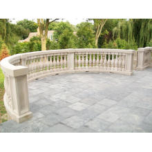 White Marble Balcony Balustrade for sale