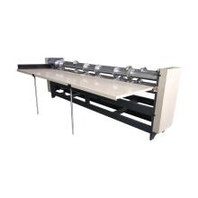 Corrugated slitter scorer cardboard cutting and creasing machine