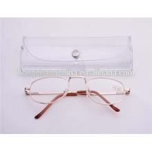 Venta al por mayor gafas de lectura con estuche proveedor china