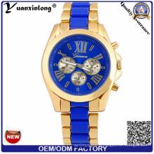 Yxl-769 2016 Trend Design Custom Made água Resistir Chonograph relógio de pulso OEM Logo