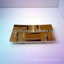 Eco Friendly Gelb Imitation Horn Gesicht Handtuch Tablett