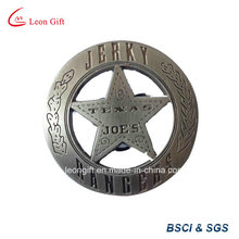 Promoción desigual Logo diseño personalizado lata tarjeta de identificación militar