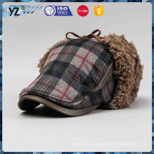Wholesale fashion wool knitted women beanie winter hat men winter hat