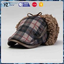 Оптовые женщины шерсти способа связали шлем зимы шлема зимы женщин beanie
