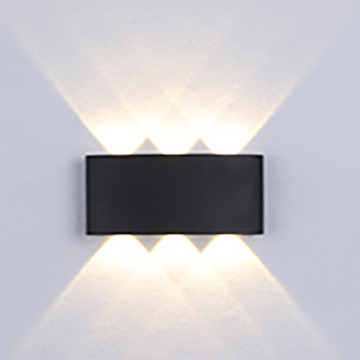 3W Simple & Pure Black LED Innenwandleuchte
