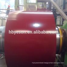 gi steel coil / ppgi steel coil / color prepainted galvanized steel coil