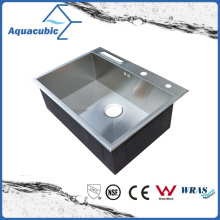 Stainless Steel Fancy Kitchen Hand Made Sink (ACS6850S)
