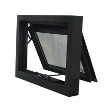 Aluminum Top Hung Windows Aluminium Casement Sliding French Tempered Laminated Double Triple Glazed Door