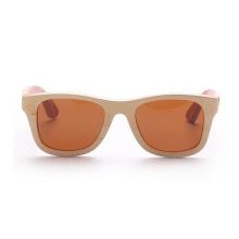Óculos de sol de madeira baratos do quadro de bambu por atacado