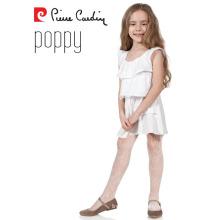 Pierre Cardin Popy OEM Venta al por mayor Niñas medias chica con patrón Pantyhose
