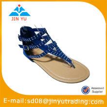 Fashion women flat summer sandals 2014