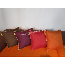 Modern Style Jacquard Decorative Square Cushion