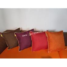 Dekoratives quadratisches Jacquard-Kissen im modernen Stil