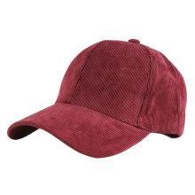пустой вельвет шляпа 6 рекламной панели бейсболка