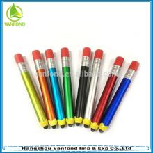 2015 hot selling pencil shape promotional stylus pen/touch screen pen/custom stylus touch pen