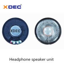 Hochwertiger 40-mm-32-Ohm-30-MW-Kopfhörerlautsprechertreiber