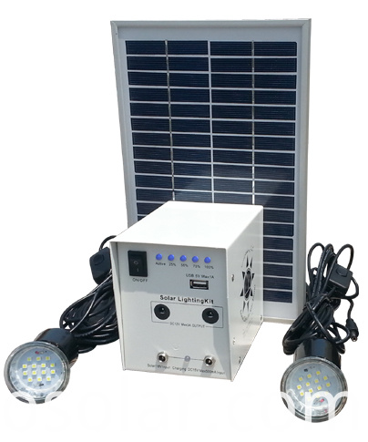 5w Led Mini Solar Kits