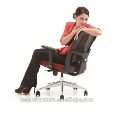 (X3-52B-MF) Chaise de bureau de couleur rouge