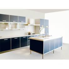 Cabinet de cuisine à laque haute brillant pour meubles de cuisine