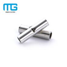 Terminais de conectores de extremidade não isolados de cobre de tamanho múltiplo