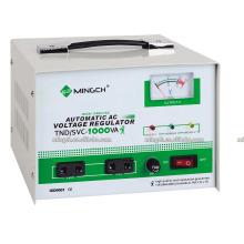 Индивидуальные однофазные серии Tnd / SVC-1k Полностью автоматические регуляторы напряжения / стабилизатора переменного тока