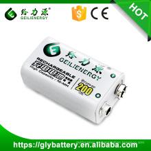La batería recargable de 9V 200mAh 23F6-220 para medir el metro hace en China
