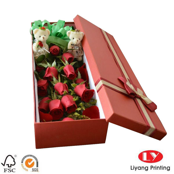 large gift box-red