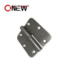 Keep Silent Top Quality Metal Silver Color Door Hinge Stainless Steel