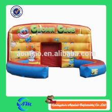 Cubo inflável do palhaço do salão do desempenho do bouncer do palhaço para a venda