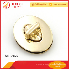 High quality fashion handbags hardware,stylish small metal lock
