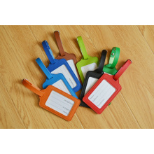Красочный может смешивать цветную бирку для багажа с логотипом на заказ