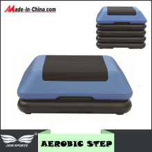 Body Building Aerobic Step W/ Risers Exercise Plyometrics Stepper
