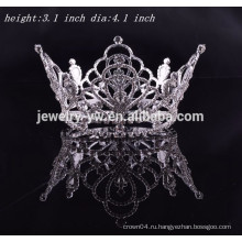 Оптовые bridal вспомогательное оборудование волос полное круглая король короля prom