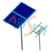Einpoliges Erdungsklammersystem für Stand-Alone-Solarenergie-System