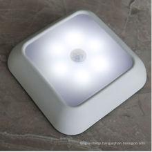 6LED Amazon Hot Selling Creative Square Intelligent Body Sensor Lamp