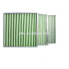 Hohe Staub-Haltekapazität G4 waschbares Material gefalteter Plattenluftfilter