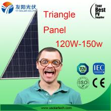 Abnormal Shape Triangle Solar Panel 120W 150W