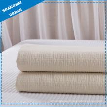 Colcha de colcha de algodão branco (cobertor)